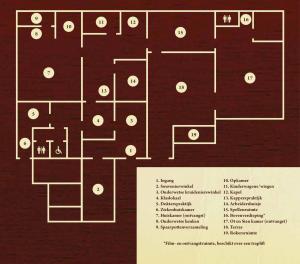Plattegrond Museum Ot en Sien